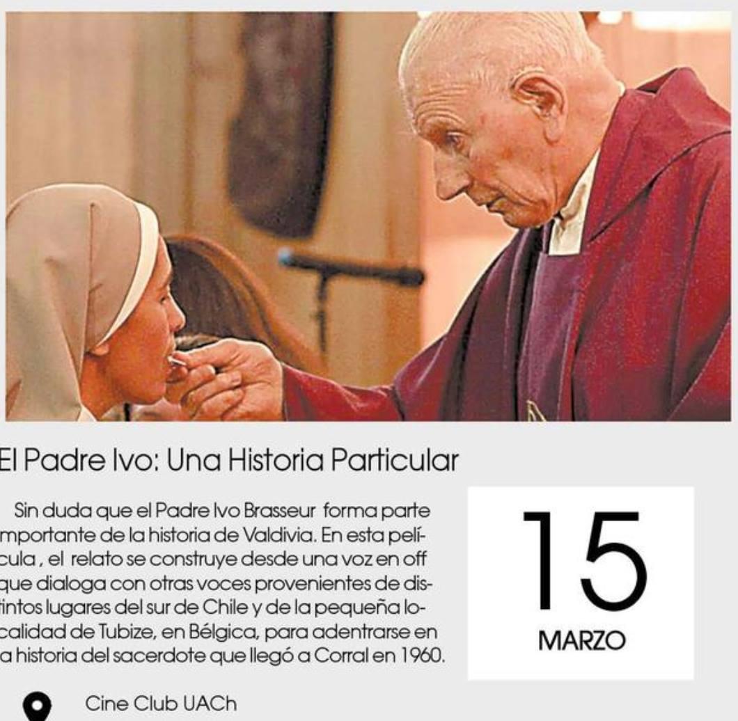 Padre Ivo. Cineclub. Poseck Films